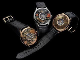 源自日本手工艺的精致腕表