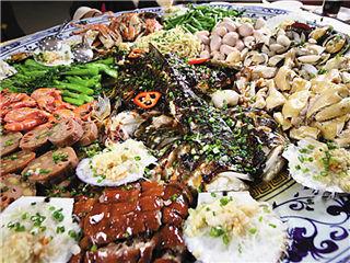 荤香暖意大鱼餐
