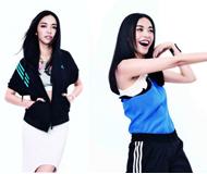 姚晨:T恤+运动裤