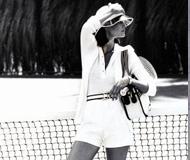 关键词六:活力无限的复古网球装扮