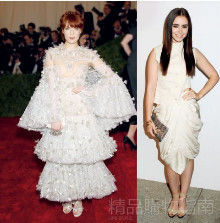Florence Welch Lily Collins