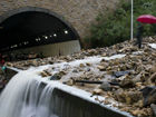 泥石流阻断深圳东部沿海高速事发夹门山隧道