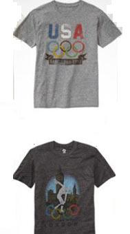Gap设计了多款复古T恤