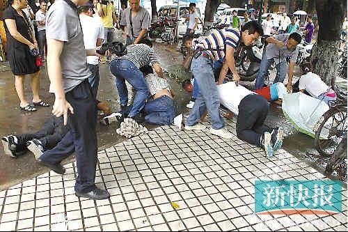 偷油贼撞死保安 深圳警方迅速破案抓获12名嫌