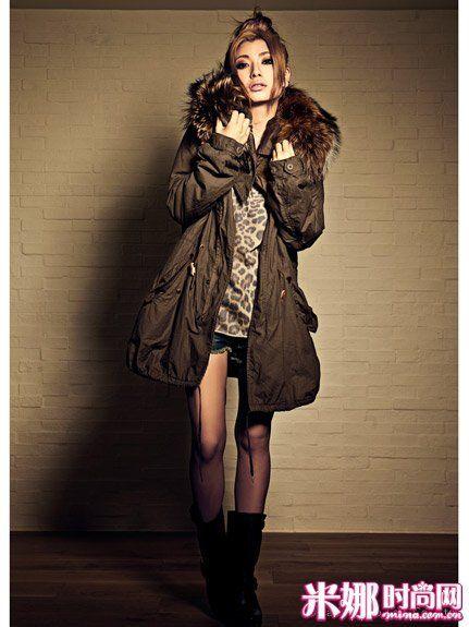 温暖的厚款外套,秋冬必备呢