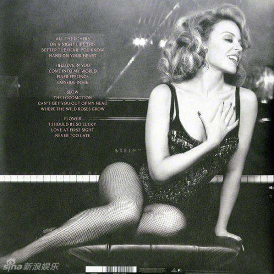 组图:凯莉米洛新碟复古写真摸胸秀美腿