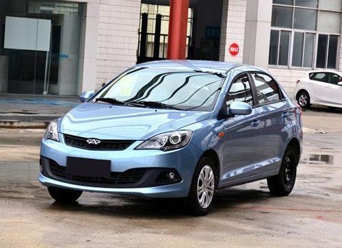 广州车展30款重磅新车首发 改款奇瑞风云2高清图片