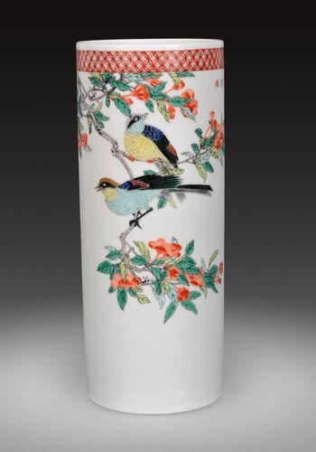 景德镇陶瓷学院李磊颖教授师生作品展举行