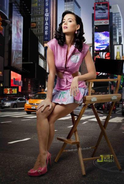 组图:美国十大性感女星排行榜凯蒂夺魁