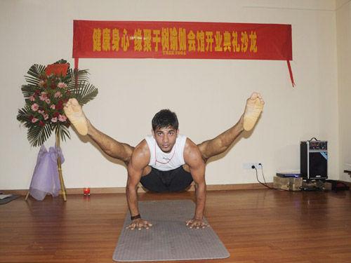 树瑜伽会馆举办开业盛典