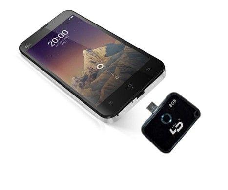 LD手机U盘有黑、白两色可选,绝配您的爱机