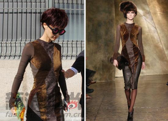 中国女星征战纽约时装周大牌衣品厮杀对决