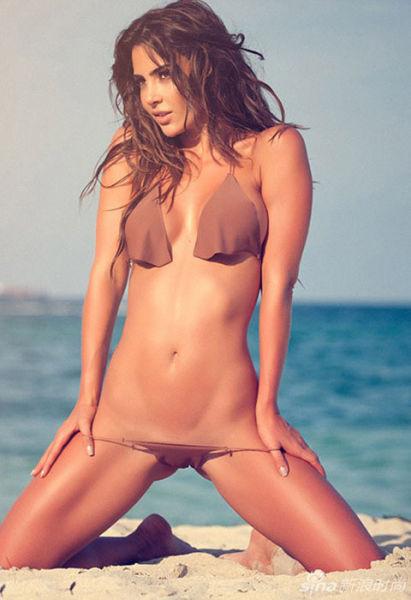 欧美超模裸色比基尼写真秀让人欲罢不能