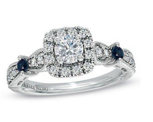求婚必胜法宝15枚冬日闪耀钻石婚戒