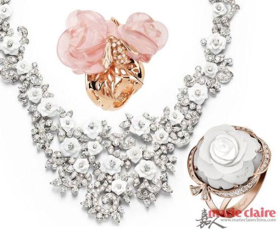 最浪漫的花朵永不凋谢的玫瑰花珠宝