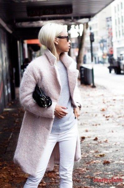 最IN的大衣潮流大衣女王教你穿出高级范儿