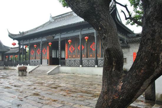 中山詹园岭南地区最大的私家古典园林