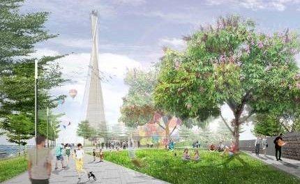 公园景观塔设计