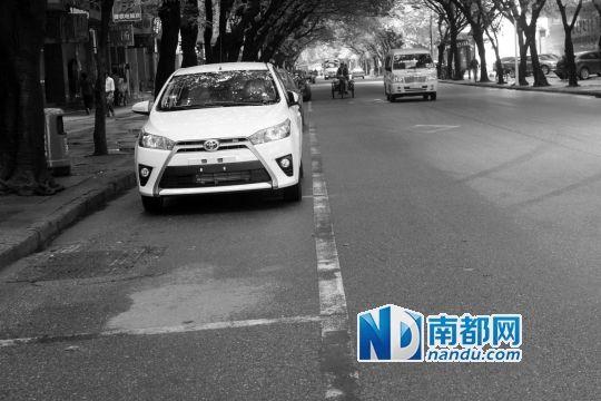 车位线未去除 十余车主停在车位内仍被罚_新浪