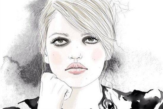 Tracy Turnbull主要运用铅笔的描绘方法,再借鉴照片的灵感,创作出具有写实风格的插画作品,最后通常会在画上添加颜色和字母,让画面人物变得更加生动感性。喜欢这种插画风格的报友们来欣赏一下吧!
