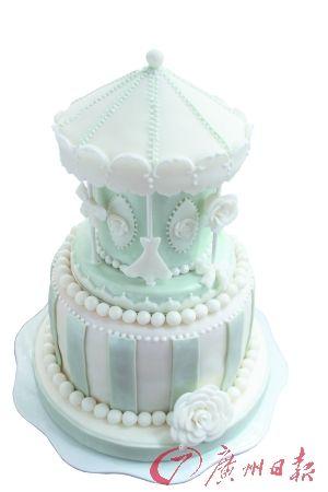 蛋糕玩时尚 华丽丽登场
