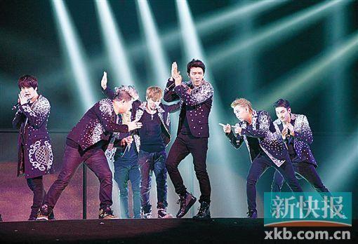 K-pop(韩流)天团唱战
