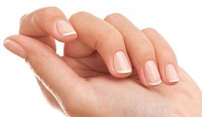 一般右手指甲出现,表示左脑有问题