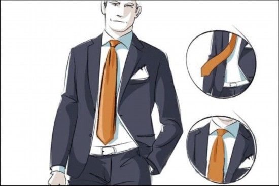 一拉得领带复原图解