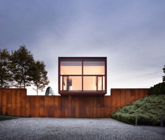 红木盒子曼妙建筑 室内简洁大方