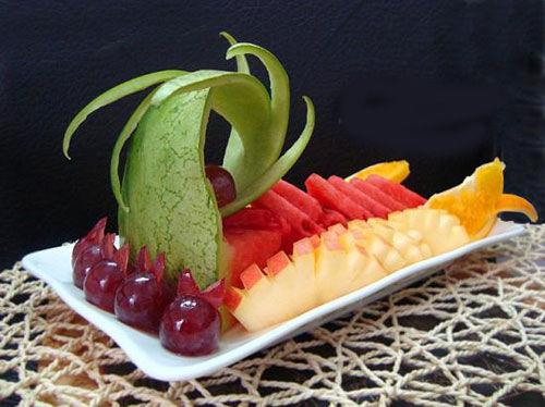 3,水果拼盘