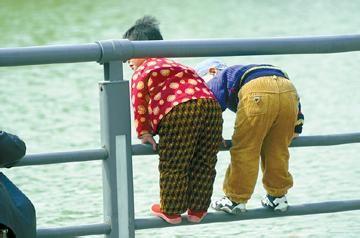 儿童对门棉袄图片