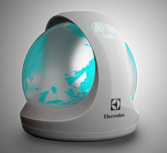充满未来感的空气净化器:设计个性十足