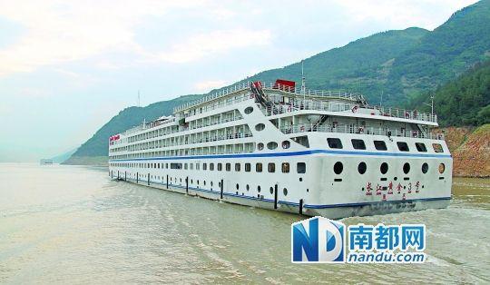 在长江三峡,也有众多受游客青睐的邮轮产品。CFP供图