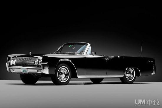 1963年林肯大陆敞篷车拍卖