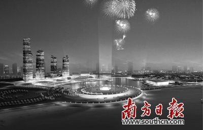 """构建大物流格局;""""两桥""""指海陵岛大桥和阳江港大桥"""