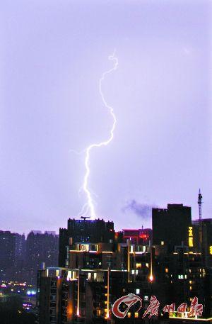 揭阳机场飞机雷击
