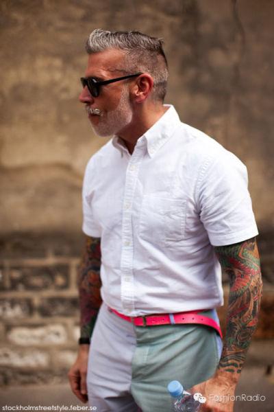 全世界最会穿衣服的男人