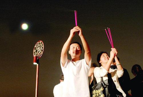 中秋节祭月·赏月·拜月