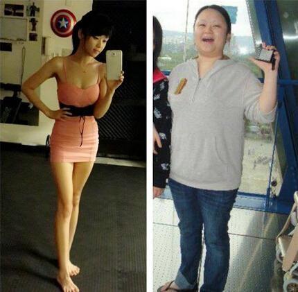 台湾胖妹瘦50公斤,证件照差太多遭警察调查。