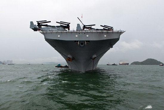 美国马金岛号抵达香港即将展开三天访问