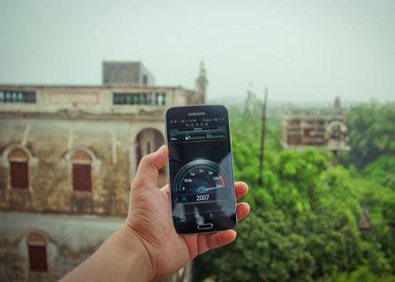 超强4G信号助及时分享乐游感受