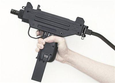 手绘 枪支 黑白图片