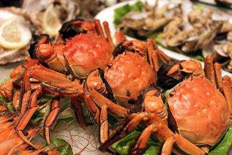海鲜美食街