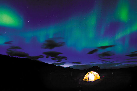 冰岛看极光时间