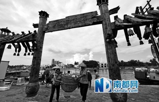 防城港70%用电户电力因台风登陆中断