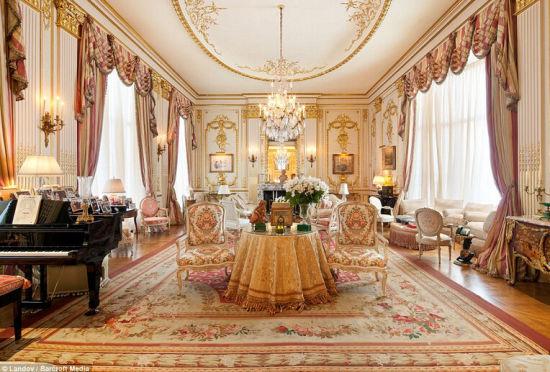 真正的奢华喜剧女王的文艺复兴风格豪宅