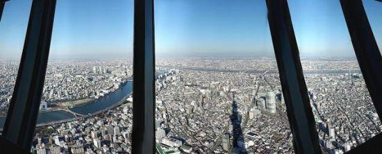 晴空塔上有两个观景台