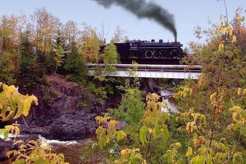 美国明尼苏达:北海岸风景区铁路