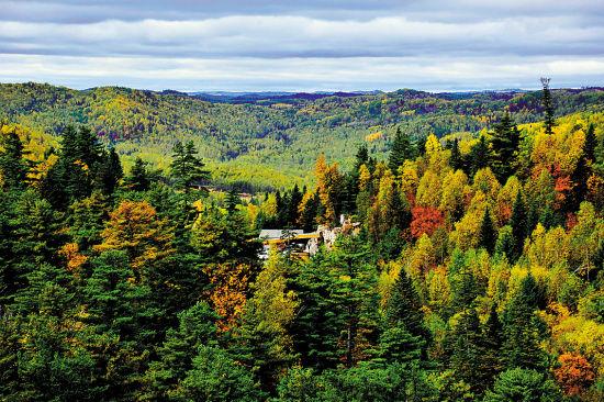 寻找我国秋天最美的原始森林 呼吸新气息