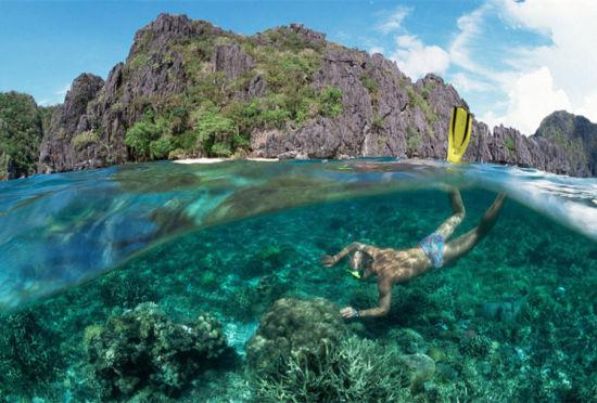 菲律宾巴拉望岛:最纯珊瑚礁最美妙地下河